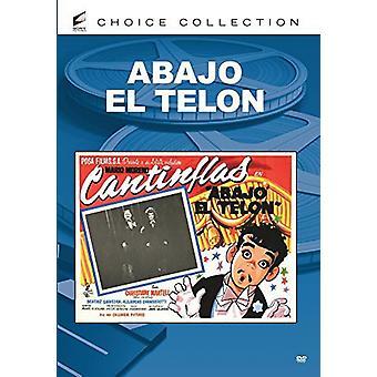 Abajo El Telon [DVD] USA import