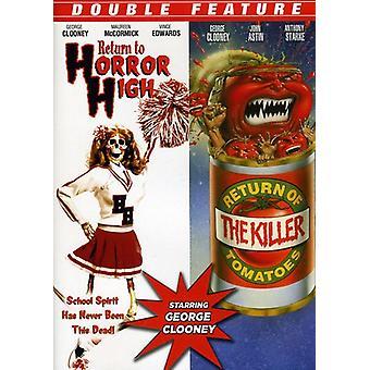 Retorno al Horror alta/retorno de la importación de Estados Unidos de tomate asesino [DVD]