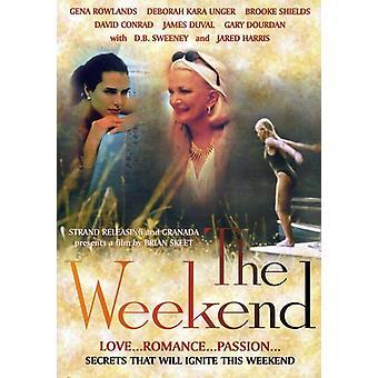 Weekend [DVD] USA importerer