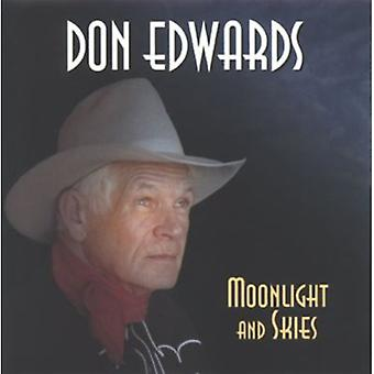 Don Edwards - Moonlight & Skies [CD] USA import