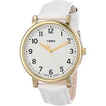 Timex Leather Unisex Watch T2P170