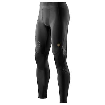Skins Herren Laufhose A400 Starlight Long Tights Schwarz - ZB99321459208