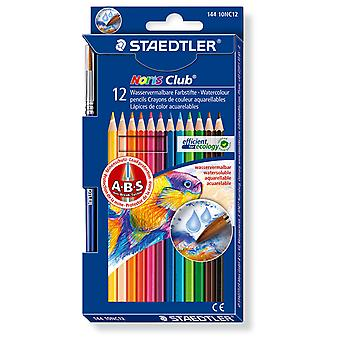 Staedtler Estuche 12 Lápices Acuarelable Noris (Toys , School Zone , Drawing And Color)