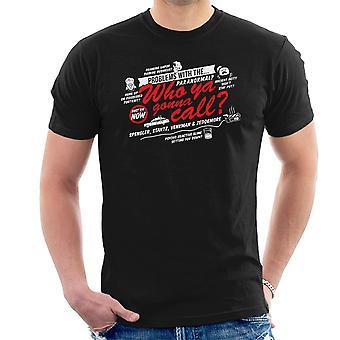 Bedre kalde drengene i grå Ghostbusters mænd T-Shirt