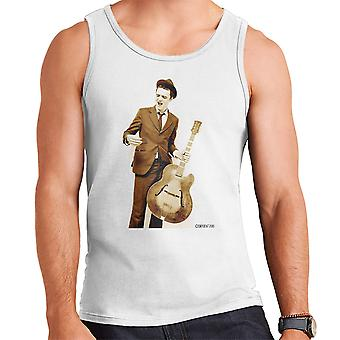 Pete Doherty Guitar Photograph Men's Vest