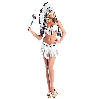 Be Wicked BW1409 2-Piece Chief Indian Princess