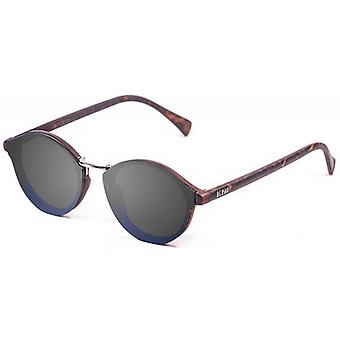 Ocean Loiret Flat Lense Sunglasses - Smoke/Brown/Blue