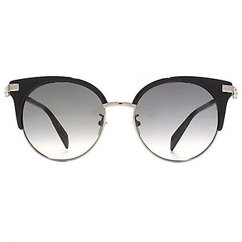 Alexander McQueen Iconic Skull Cateye Sunglasses In Black