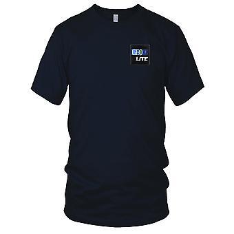 NASA - SP-221 NASA Geo Lite wyszywana naszywka - hak i pętli Panie T Shirt