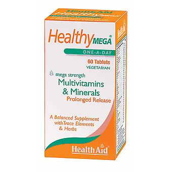 Health Aid Healthy Mega  - Prolonged Release ,  60 Tablets