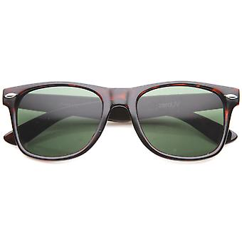 Classic Eyewear Iconic 80's Retro Large Horn Rimmed Sunglasses 54mm