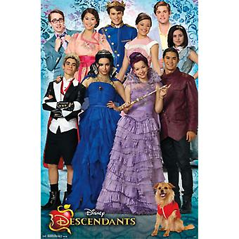 Disney Descendants - Group Poster Poster Print