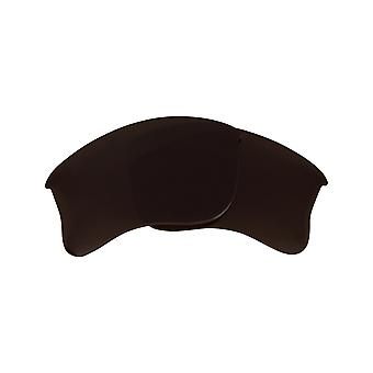 Replacement Lenses Compatible with OAKLEY Half Jacket 2.0 XL Asian Fit Brown