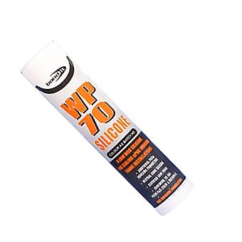 Bond It WP70 Neutral Cure Oxime Silicone (310ml) - Toffee