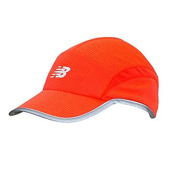 New Balance 5 Panel Performance Cap - Vivid Coral