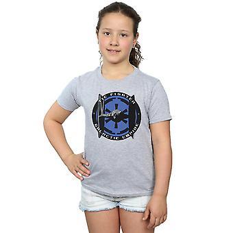 Star Wars Girls Tie Fighter Galactic Empire T-Shirt
