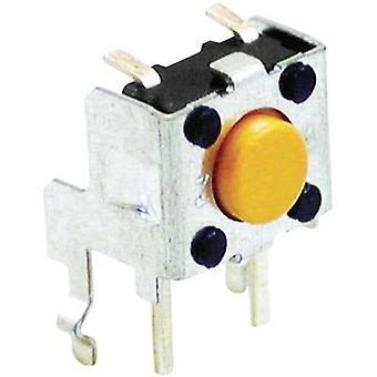 Pushbutton 24 Vdc 0.05 A 1 x Off/(On) Omron B3F315