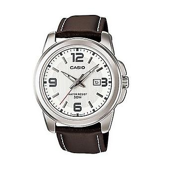 Montre Casio Smart cuir marron bracelet PSG-1314L-7 a