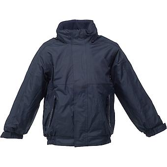Regatta Boys & Girls Dover Waterproof Fleece Lined Bomber Jacket
