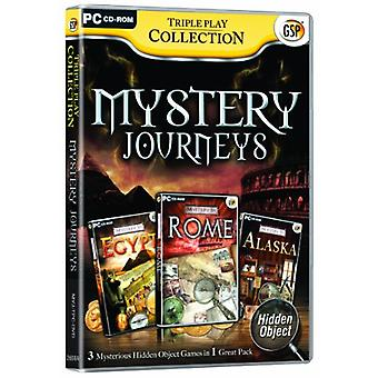 Triple Play Collection Mystery Journeys (Pc CD) - Factory Sealed