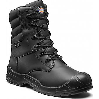 Dickies Mens Trenton Pro Leather Steel Toe Cap Workwear Safety Boots