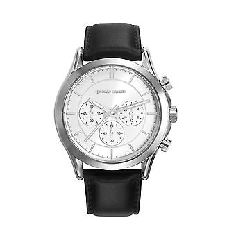 Pierre Cardin mens watch watch Chrono BOTZARIS HOMME leather PC107201F01