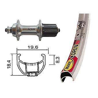 Bike parts 28″ rear wheel Mavic open Pro + Shimano 105 10/11-speed (QR)