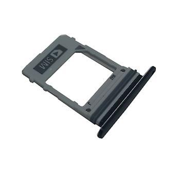 Samsung Galaxy A8 2018 A530F GH98 42704A Simkartenhalter SIM tray SIM slide black