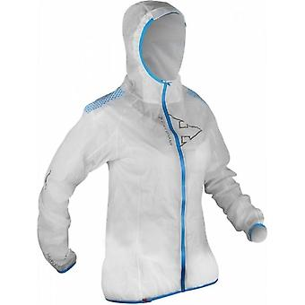 Hyperlight MP+ Womens Waterproof Breathable Jacket White/Electric Blue
