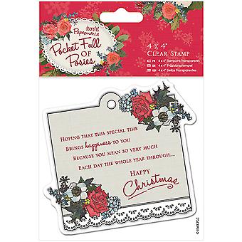 Papermania Pocket Full Of Posies Clear Stamps 4