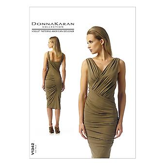 Misses' Dress-4-6-8-10-12 -*SEWING PATTERN*
