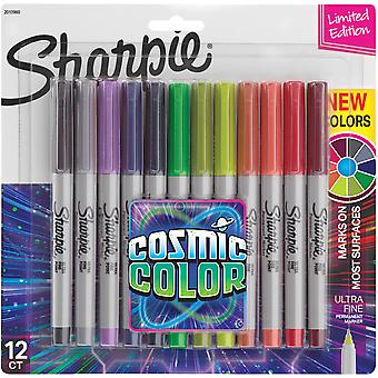 Sharpie Cosmic Color Ultra Fine Point Markers 12/Pkg-