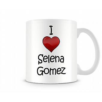 Ich liebe Selena Gomez Printed Tasse