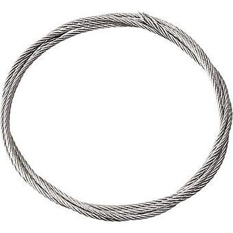 Plastic-coated steel braid Reely Length: 2000 mm Outside diamet