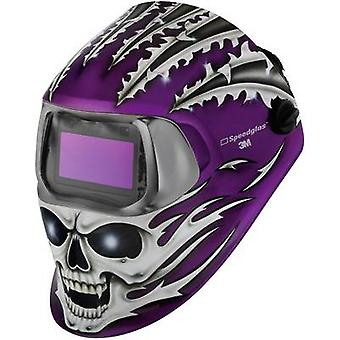 Welders hard hat SpeedGlas 100V Raging Skull H752620 EN 379 , EN 166 , EN 175 , EN 169