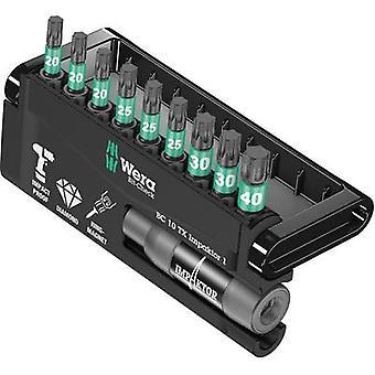 Bit set 10-piece Wera 8767-9/IDC Impaktor Bit-Check 05057688001 TORX socket Impaktor® technology