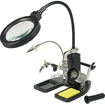 Toolcraft Helping Hand LED Magnifier Lamp