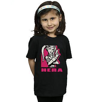 Star Wars T-Shirt für Mädchen Rebellen Hera