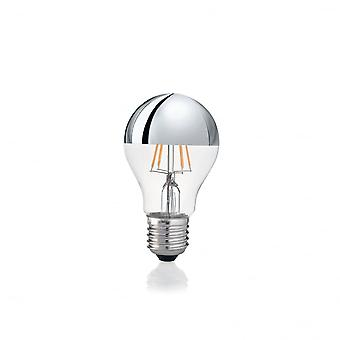 Ideal Lux Lampadina Classic E27 8W Goccia Chrome