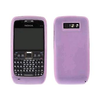 Wireless Solution Silicone Gel Case for Nokia E71x - Pink