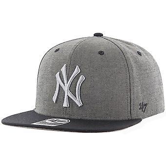 47 brand Snapback keps - DOUBLEMOVE NY Yankees grey heather