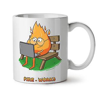 Funny Pun Words NEW White Tea Coffee Ceramic Mug 11 oz | Wellcoda