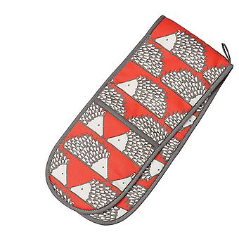 Scion Living Spike the Hedgehog Double Oven Glove, Red