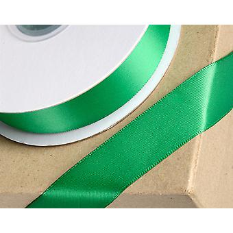 6mm Emerald Green Satin Ribbon for Crafts - 25m   Ribbons & Bows for Crafts