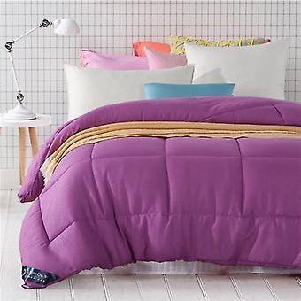 600 Thread Count-100% Cotton Comforter/quilt-purple