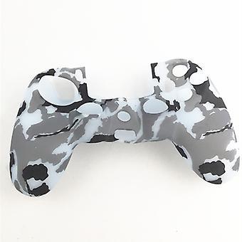 PlayStation 4-PS4 Silikon Skin Camouflage dunkelgrau