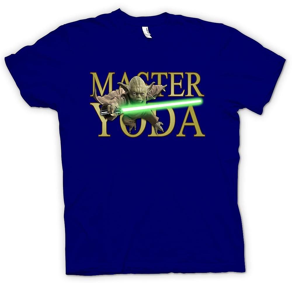 Mens T-shirt - Maestro Yoda - Jedi - Star Wars - Movie