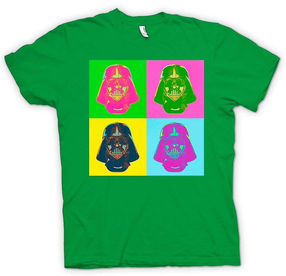 Mens T-shirt - Darth Vader - Star Wars - Warhol