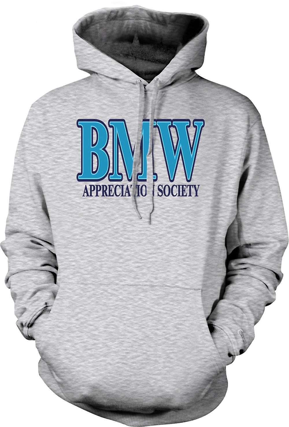Mens Hoodie - BMW Appreciation Society
