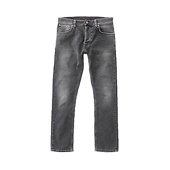 Nudie Jeans Co Grim Tim Slim Fit Jeans (schimmerndes grau)